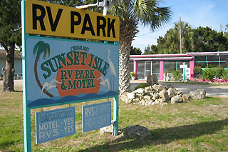 Sunset Isle Rv Park Cedar Key Dacrons Florida Travel Guide